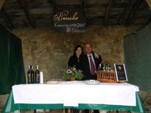 Salvatore Cannavò mit seiner Tochter - der Erfinder des Barocho