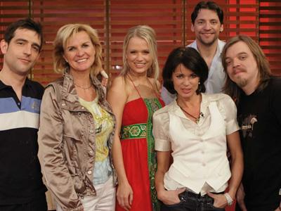 Teilnehmer der Promi Kocharena vom 24.08.2008