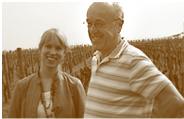 Weinbekanntschaft am Ostersamstag: Carmen Krück Einkaufen