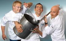 Küchenchefs auf Vox: Kotaska, Baudrexel und Zacherl