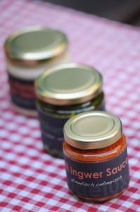Chilli Ingwer Sauce von dipdeluxe