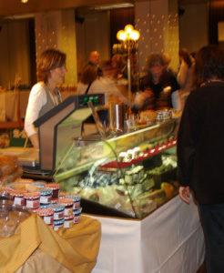 fine 2009 gestartet: neue/ess/klasse auf der Pressekonferenz Einkaufen