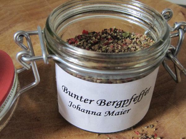 Johanna Maier's Butter Bergpfeffer