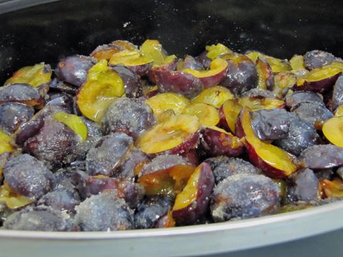 Landlust - Teil 2: Latwerge - hessischer Pflaumenmus im Ofen gemacht Essen