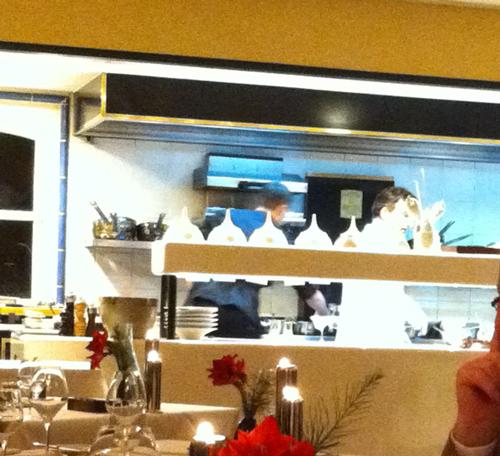 Offene Küche bei Johannes King