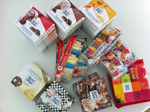 Ritter Sport Sommersorten, Blog Schokolade und mehr
