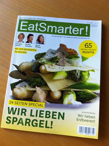 Kochzeitschrift EatSmarter 3_2011