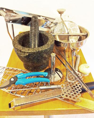 Küchenutensilien - was braucht eine gut ausgestattete Küche?