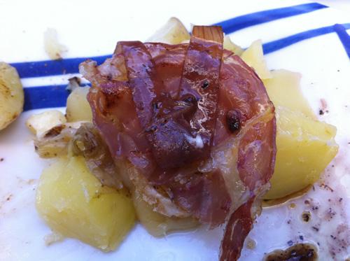Raclette perfekt - mit Pancetta und Rotweinzwiebeln