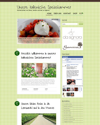 Neu: Unsere italienische Speisekammer