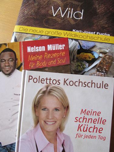 Neuer Kochbücher: Wildküche, Poletto und Nelson Müller