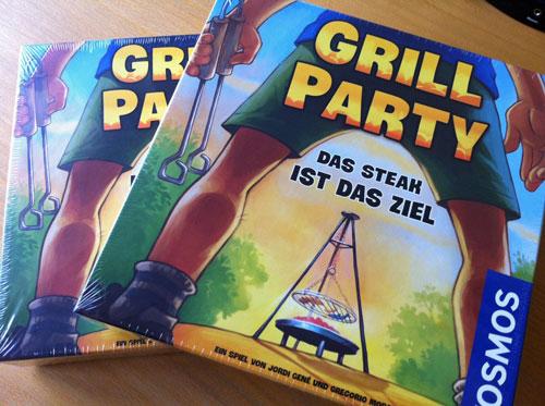 Gewinnspiel Grill Party