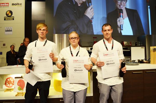 neue/ess/klasse wieder in der Jury beim Bauknecht-Nachwuchspreis: Chef-Sache, Köln, die zweite. Einrichten