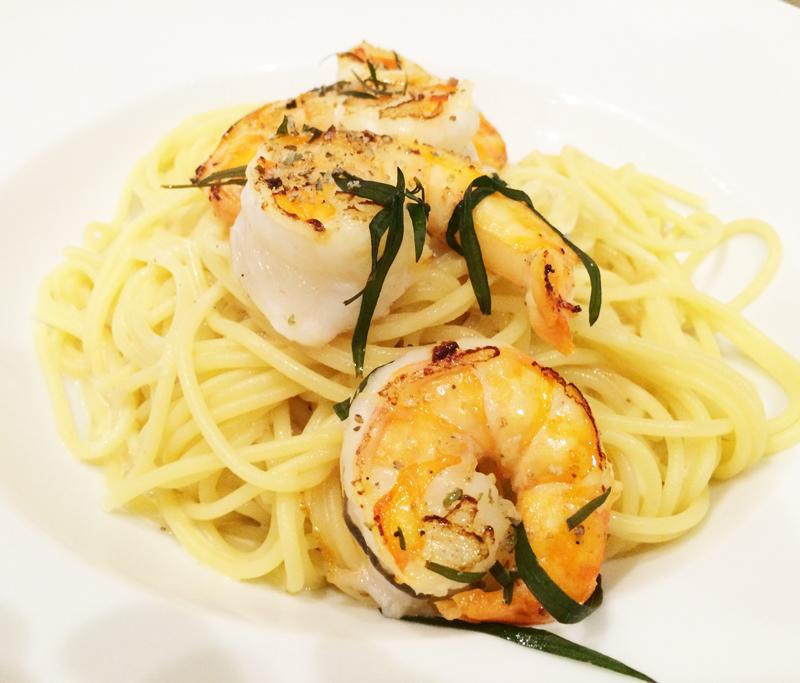 neue-ess-klasse:Pasta mit Parmesansauce