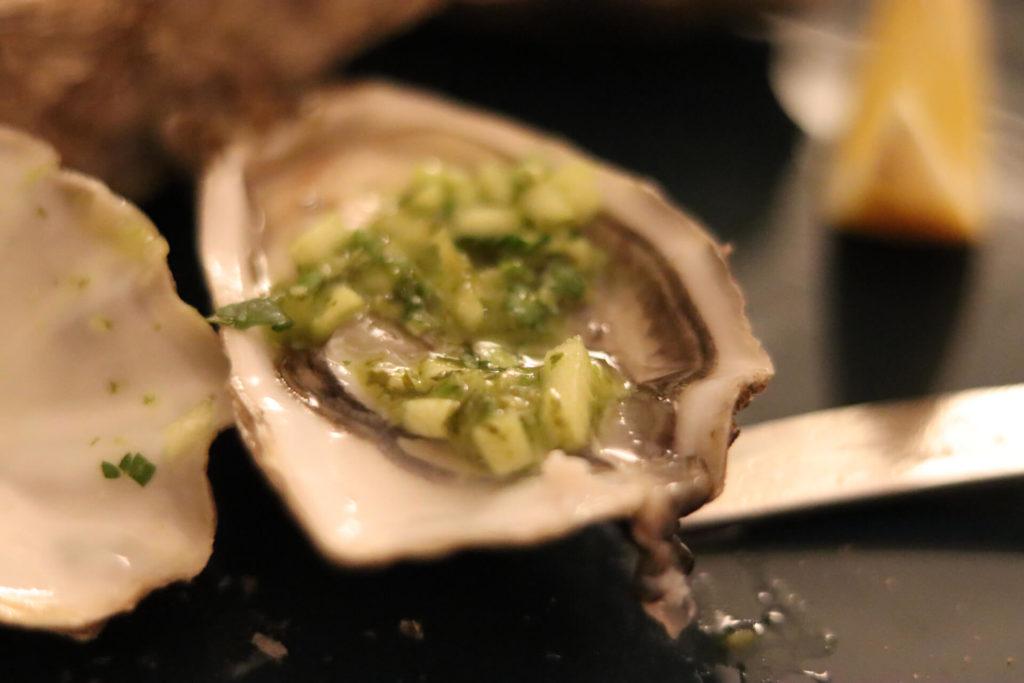 Trostpflaster: Austern mit zwei tollen Vinaigrette Essen