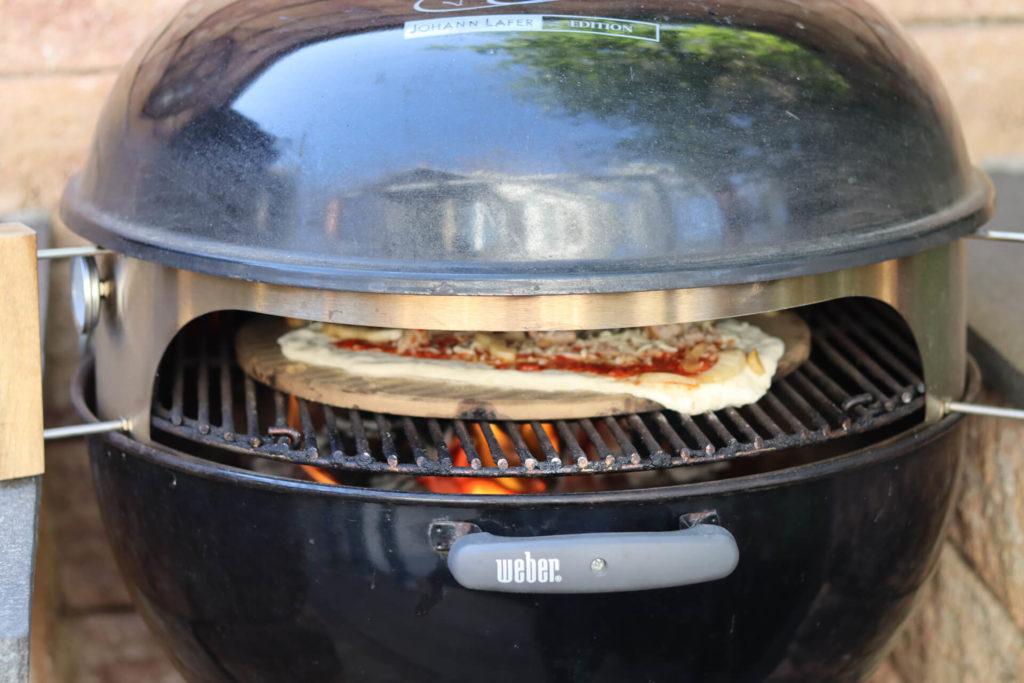 3x Lecker: Pizza vom Grill Essen