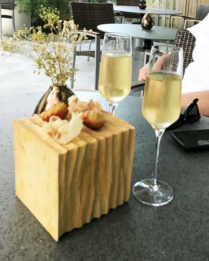 Restaurant Tipp: Jardin Secret in La Wantzenau im Elsass Essen